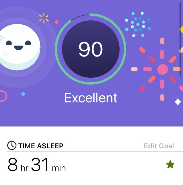 best fitbit for tracking sleep score